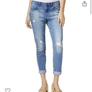 NWT Maison Jules Slim Boyfriend Jeans